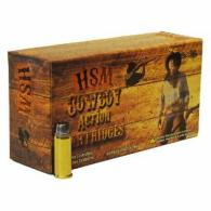 HSM AMMO COWBOY ACTION 45LC 250GR RNFP-HARD