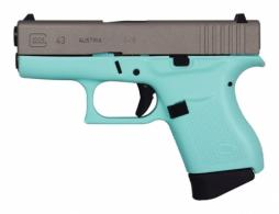GLOCK 43 9MM 3.39 FXD SS EB 6