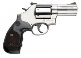 Smith & Wesson LE 686 Plus Magnum Stainless/Wood 357 - 150853LE