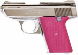 COBRA 380 AUTO CHROME 5SH PINK GRIP - CA380CPK