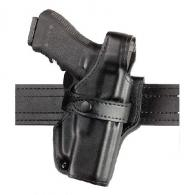 070 SSIII Mid-Ride Duty Holster | Basket Weave Black | Right | Standard Belt Loop - 070-74-181