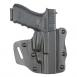 Model 547 PRD Open Top Concealment Belt Slide | STX Plain Black | Right - 547-283-411