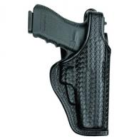 Accumold Elite Defender II Duty Holster | Black | Basket Weave | Right - 22052