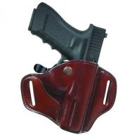 Carrylok 82 Auto Retention Leather Holster | Black | Left - 22149
