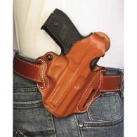 Thumb Break Scabbard Belt Holster | Tan | Plain Unlined | Right - 001TAM9Z0