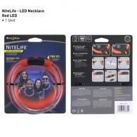 NiteLife LED Necklace  Red - NHOH-10-R3