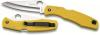 Spyderco - PACIFIC SALT | Clip Point | Yellow - C91PYL