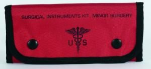 Empty Surgical Kit Pouches | Red - 15-9589016000