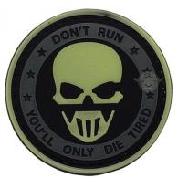 Don't Run Ghost Night Glow Morale Patch - 6733000