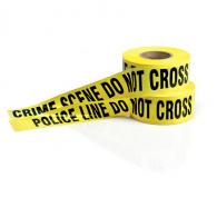 Sheriffs Barrier Tape - 3in x 1000ft - 3-5003