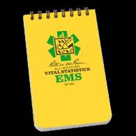 "RiteRain 3x5 EMS Notebook | Yellow | 3"""" x 5"""" - 112"