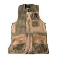 Peregrine Wild Hare Heatwave Mesh Vest Sage/Khaki, Left Hand, Youth Large - WH-425S-SK-LH-YL