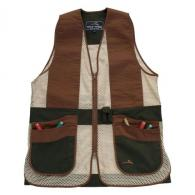 Peregrine Wild Hare Primer Mesh Vest Ambidextrous, Forest/Brown, Youth Large - WH-421S-FB-YL