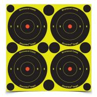 Birchwood Casey 3in Bulls Eye-4k Targets-10k Pasters - 34390