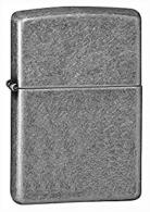 Zippo Classic Antique Silver Plate Lighter - 121FB