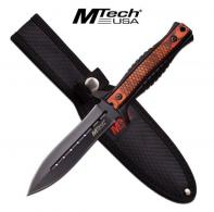 Master Fixed 4.8 in Blade Brown Pakkawood Handle - MT-20-74PW
