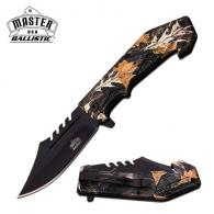 Master Assisted 3.75 in Blade Camo Coated ABS Handle - MU-A042BC