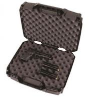 Flambeau Tactical Series Double Deep Pistol Case - Black - 1511DDP