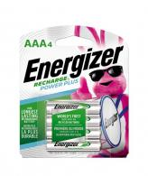 Energizer AAA Rechargeable Batteries Power Plus 700 mAh Pre- - UNH12BP-4