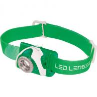 LED Lenser Headlamps SEO3.2 Green 880287 - 880287