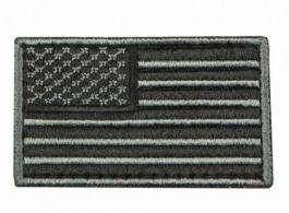 USA Flag Patch Embroid Black - CVUSAE3028B