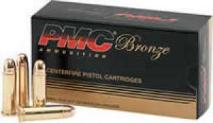 PMC 38 Super Auto +P Target 130 Grain Full Metal Jacket - 38SA