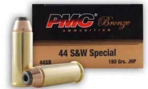 PMC 44 Special 180 Grain JHP 25rd box
