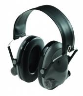 Peltor Electronic Hearing Protection Earmuffs w/Gray/Black F - 97044