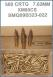 Federal Standard 7.62mmX51mm FMJ 149Gr. - 500 Rnds - XM80CS