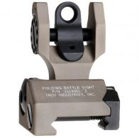Troy FBSTTFT00 Battle Sight Rear Tritium Di-Optic Aperture F