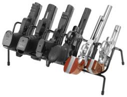 Past 222210 LockDown 6 Gun Handgun Rack Black - 222210