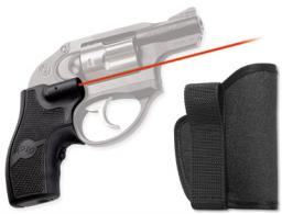 Crimson Trace LG411H LaserGrip Grip Ruger Black Rubber