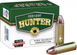 Cor-Bon HT300WBY180 Hunter 300 Weatherby Magnum 180 GR Bonded Solid Base 20 Bx/ - HT300WBY180
