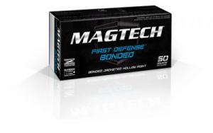 Magtech 9BONC First Defense 9mm Luger 147 GR Bonded Jacket Hollow Point 50 Bx/