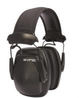 Howard Leight 1030110 Sync Stereo Earmuff Black Clamshell Pk - 1030110