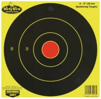 Birchwood Casey 35908 Dirty Bird Bull\'s-Eye Targets 8 Pack - 35908