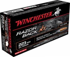 Winchester Ammo Razorback 223 Remington/5.56 Nato Hollow Poi