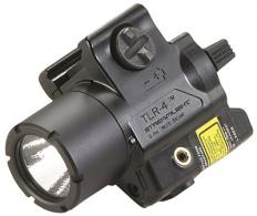 Streamlight 69240 TLR4 Weapon Light w/Laser CR2 Lithium Blac