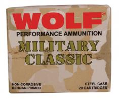 Wolf MC3006SP140 Military 30-06 Springfield Soft Point 140Gr. - 500 Rnds