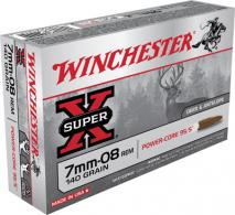 Winchester Ammo X708LF Super X 7mm-08 Rem Power Core 95/5 14