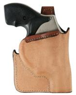 Bianchi 25204 LCR Ruger Pocket Tan Leather