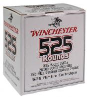 Winchester Ammo 525 .22 LR  Copper Plated Hollow Point - CASE - 22LR525HP