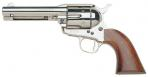TAYLORS & CO. INC. 555122 Cattleman Nickel Plated/Walnut 45 Colt 5.5 - 555122