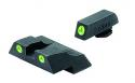 MeproLight Tru-Dot Night Sights Glock 26 27 G/O