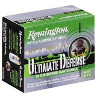 Remington Ammunition HD9MMBN Ultimate 9mm Brass 124 GR JHP 2