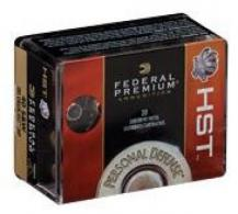 Federal P9HST1S HST Hollow Point 20RD 124gr 9mm Luger