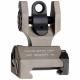 Troy SSIGFBSROFT Battle Sight Rear Folding Flat Dark Earth