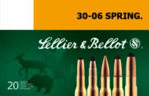Sellier & Bellot SB3006E Rifle Hunting .30-06 Springfield 180 GR SPCE (Soft Poin