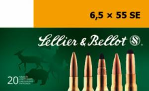 Sellier & Bellot SB6555C Full Metal Jacket 6.5mmX55mm 140GR  - SB6555C