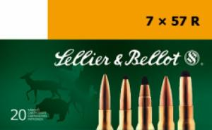 Sellier & Bellot SB757RB 7X57mm Rimmed 158GR Hollow Point Capped 20 Box/20 Cs - SB757RB